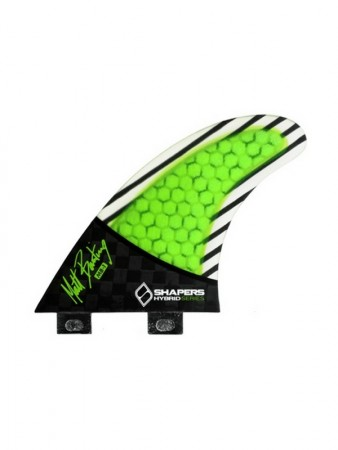 SHAPERS FINS FCS CARBON HYBRID MB01 THRUSTER FINS